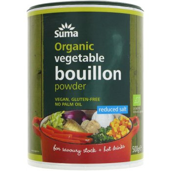 Suma Organic Reduced Salt Vegetable Bouillon Powder - 500g