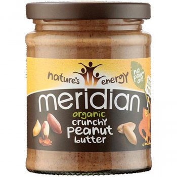 Meridian Peanut Butter - Crunchy - No Added Sugar or Salt - 280g