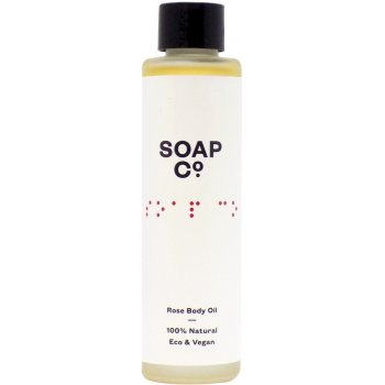 The Soap Co Rose Body Oil - 100ml