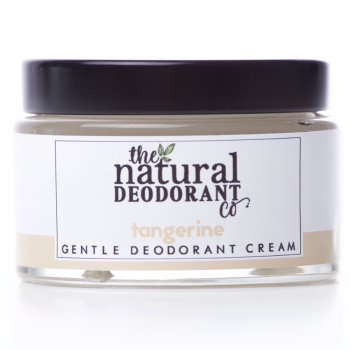 Natural Deodorant Co Gentle Deodorant Cream - Tangerine - 55g