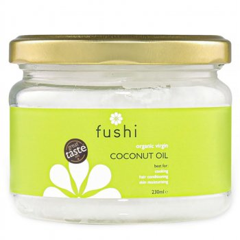 Fushi Organic Virgin Cold Pressed Coconut Oil - 230ml