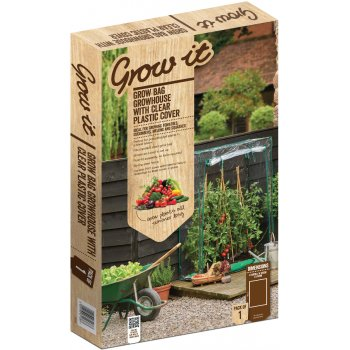 Growbag Growhouse with Clear Plastic Cover