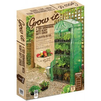 4 Tier Growbag Growhouse with Heavy Duty Cover