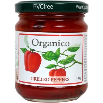 Organico Grilled Peppers in Extra Virgin Olive Oil - 185g