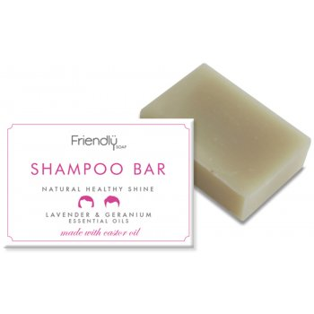 Friendly Soap Natural Shampoo Bar - Lavender & Geranium - 95g
