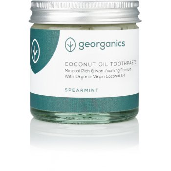 Georganics Natural Coconut Toothpaste - Spearmint - 60ml