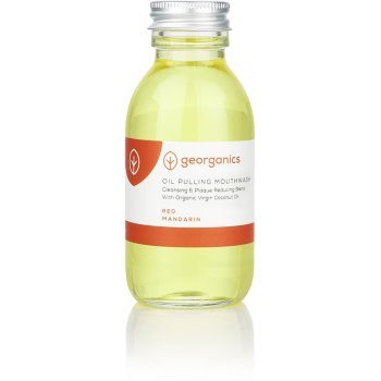 Georganics Oil Pulling Mouthwash - Red Mandarin - 100ml