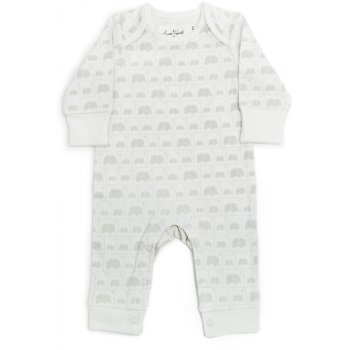 Susie J Verrill x From Babies with Love Elephant Family Organic Baby Grow