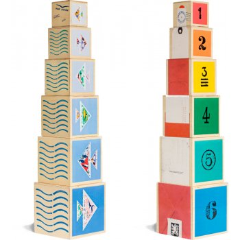 From Babies with Love Nautical Nesting Cubes