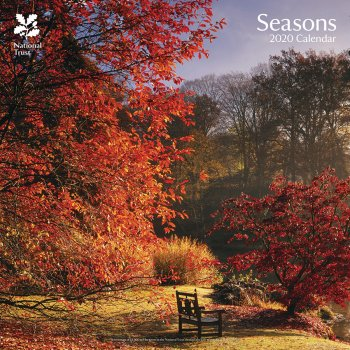 National Trust Seasons 2020 Wall Calendar