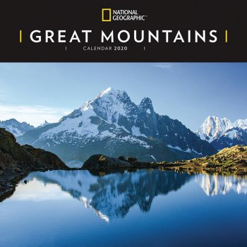 National Geographic Great Mountains 2020 Wall Calendar