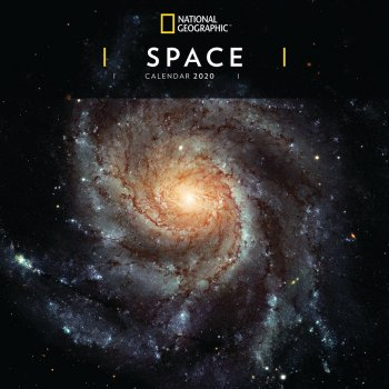 National Geographic Space 2020 Wall Calendar