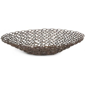 Linked Metal Bowl