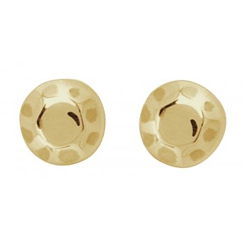 Kashka London Childrens Shapes Gold Earrings
