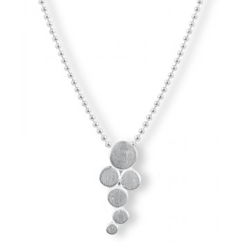 Kashka London Big Bubbles Silver Necklace