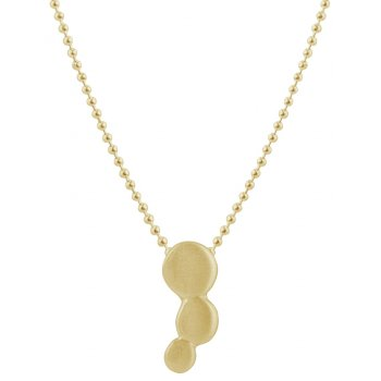 Kashka London Small Bubbles Gold Plated Pendant Necklace