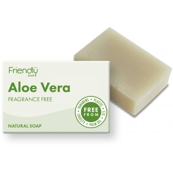 Friendly Soap Aloe Vera Bath Soap - 95g