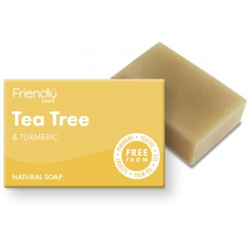 Friendly Soap Tea Tree Bath Soap - 95g