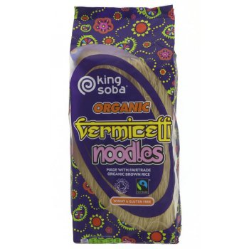 King Soba Fairtrade Vermicelli Noodles - 250g