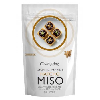 Clearspring Unpasteurised Hatcho Miso Paste - 300g