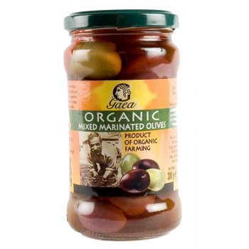 Gaea Organic Mixed Marinated Olives - 300g