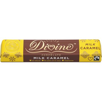 Divine Caramel Milk Chocolate - 35g