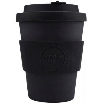 Ecoffee Reusable Bamboo Coffee Cup - Black - 350ml