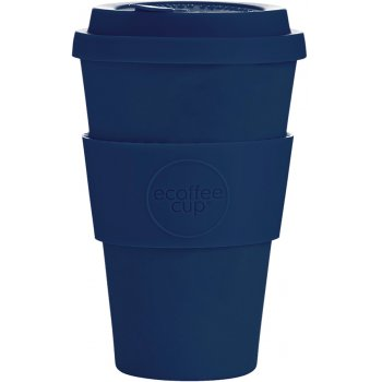 Ecoffee Reusable Bamboo Coffee Cup - Navy - 400ml