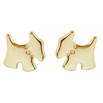 Kashka London puppy love Gold plated