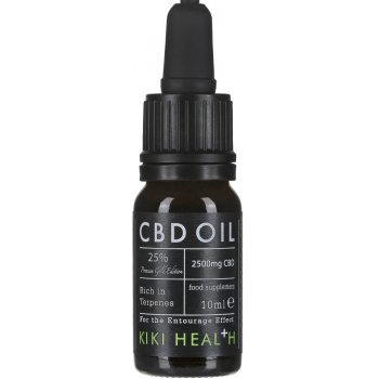 Kiki Health CBD Oil Gold Edition 25 percent  - 10ml