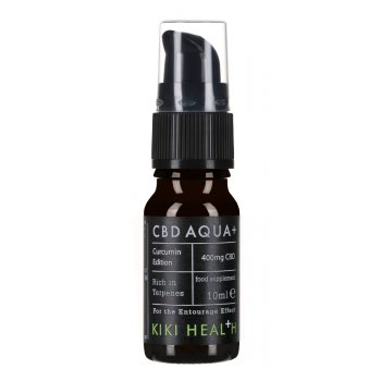 Kiki Health CBD Aqua  Curcumin Edition - 10ml