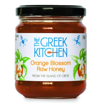 The Greek Kitchen Orange Blossom Greek Raw Honey - 250g