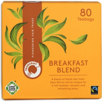 Traidcraft Fair Trade Breakfast Blend Tea - 80 Teabags