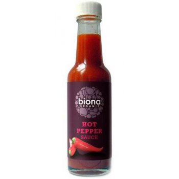 Biona Organic Hot Pepper Sauce - 140ml