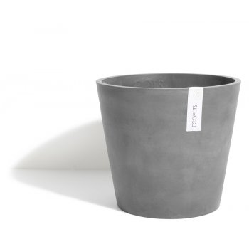 Ecopots Small Amsterdam Plant Pot - Grey