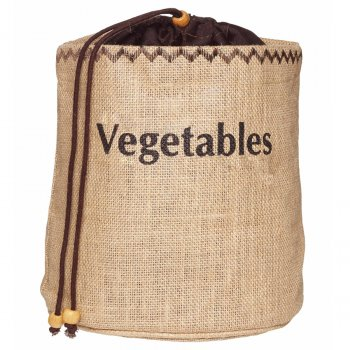 KitchenCraft Natural Elements Vegetable Jute Sack