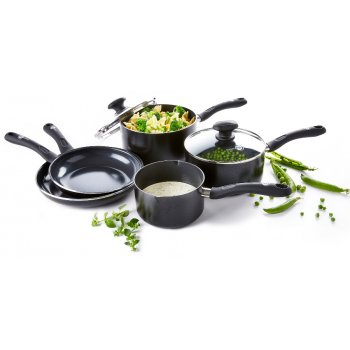 GreenPan Velvet Black 5 Piece Cookware Set