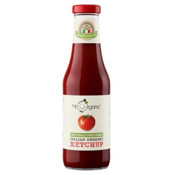 Mr Organic Naturally Sweetened Tomato Ketchup - 480g