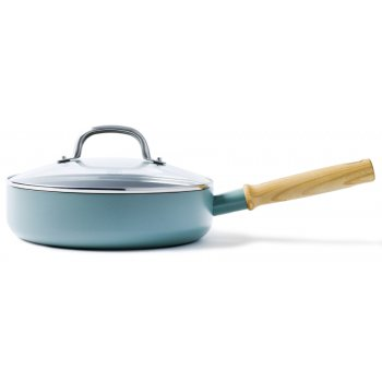 GreenPan Mayflower SautePan with Lid - 24cm