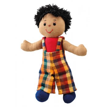 Lanka Kade Boy Doll - Brown Skin Black Hair