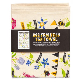 Stuart Gardiner Bee Friendly Organic Tea Towel