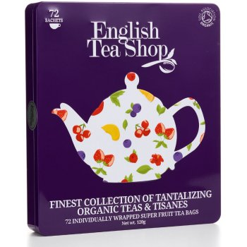 English Tea Shop Organic Super Fruit Gift Tin - 72
