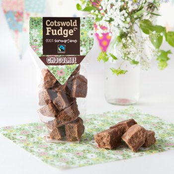 Cotswold Fudge Bag - Chocolate - 150g