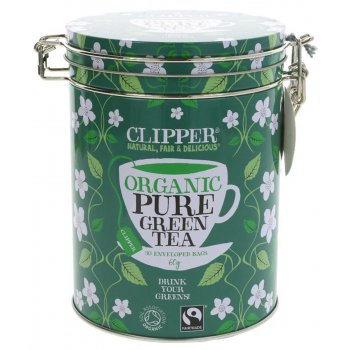 Clipper Green Tea Gift Caddy - 30 Teabags