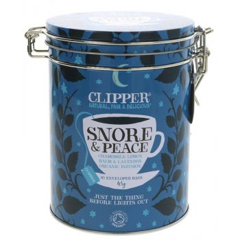 Clipper Snore & Peace Tea Gift Caddy - 30 Teabags