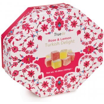 Truede Rose & Lemon Turkish Delight - 300g