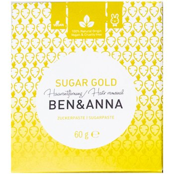 Ben & Anna Sugar Gold Hair Removal Paste - 60g