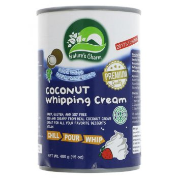 Natures Charm Coconut Whipping Cream - 400g
