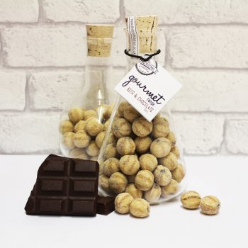 The Treat Kitchen Gourmet Beer & Chocolate Sweets in a Glass Flask - 350g