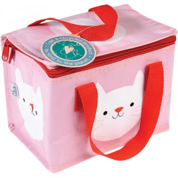 Recycled Lunch Bag - Cookie the Cat
